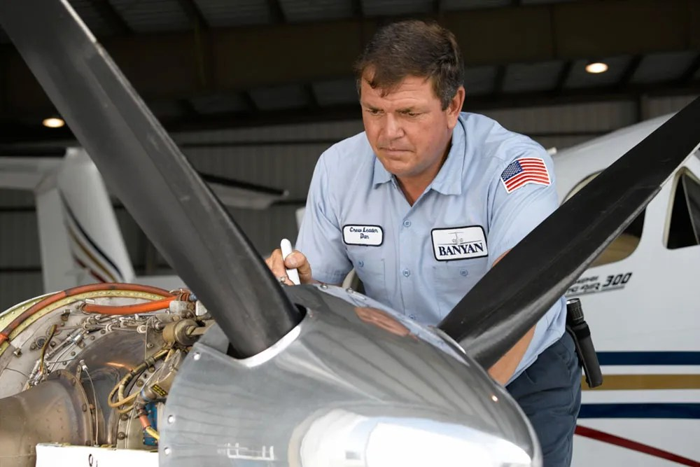 King Air parts and service