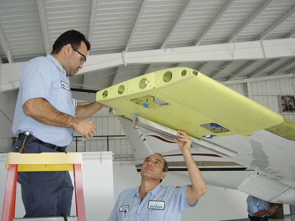 aircraft structural repairs
