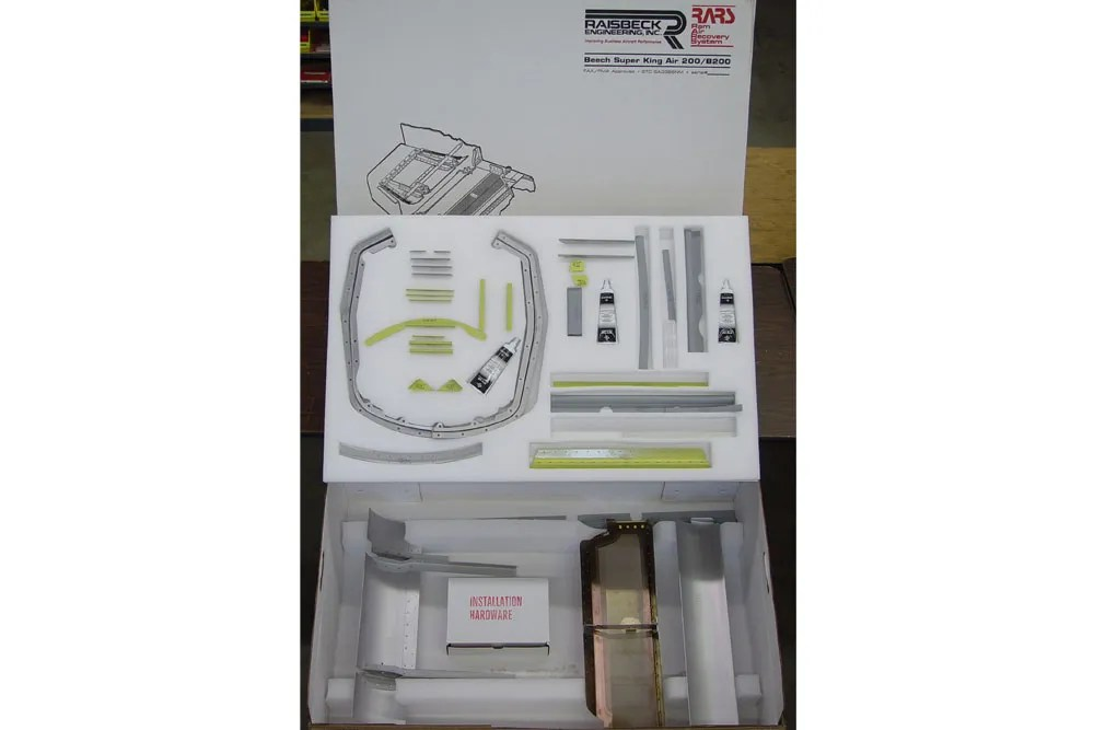 raisbeck ram air recovery system parts