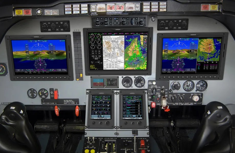 garmin g5000 retrofit for beechjet and king air