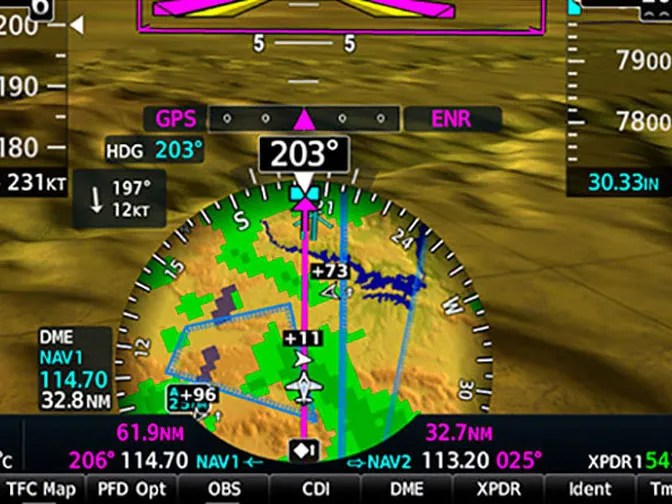 Garmin G1000 NXi HSI Mapping