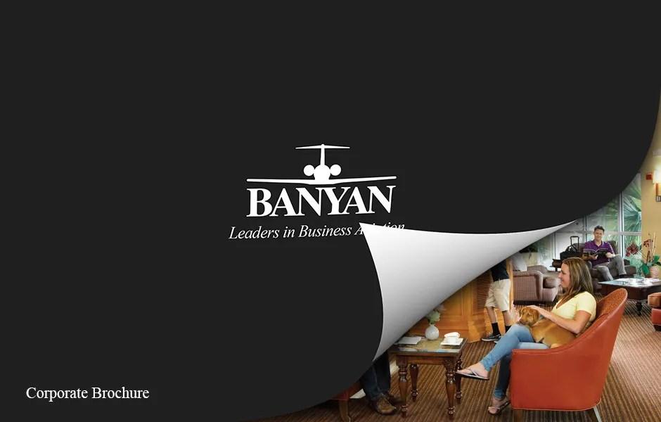 Banyan Air Service corporate brochure