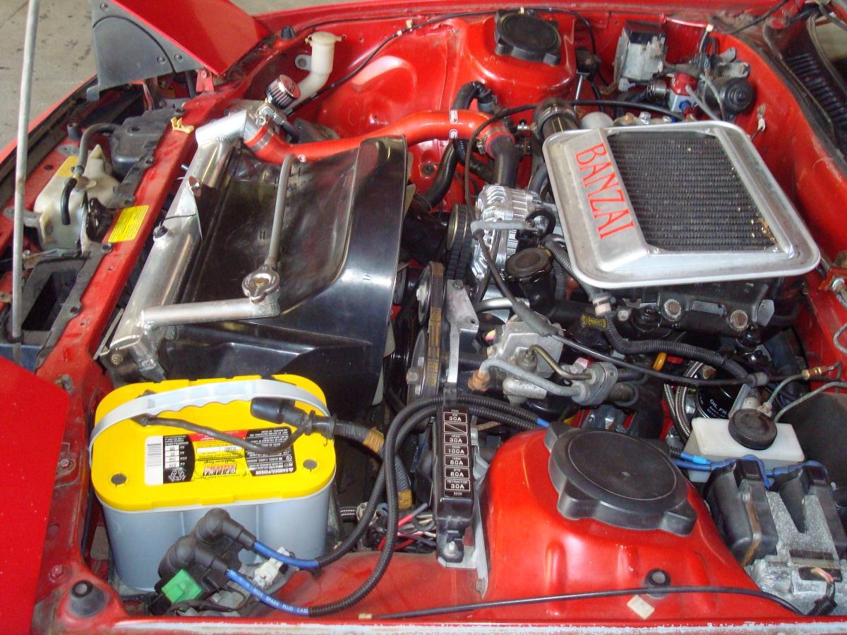 Fabulous Banzai Racing S4 Rx 7 Power Fc Installation
