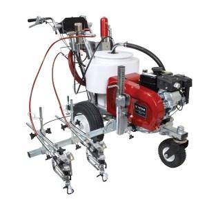 Pintarayas con tecnología Airless (sin aire) Marca SWEGA Modelo 6955 BAP Maquinaria