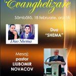 Evanghelizare la Izvin