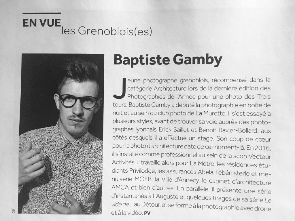 Beaux Quartiers Les affiches Grenoble Baptiste Gamby Architecture d'art