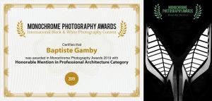 monoawards.com winners 2019 professional architecture Baptiste Gamby Photographe Grenoble Architecture