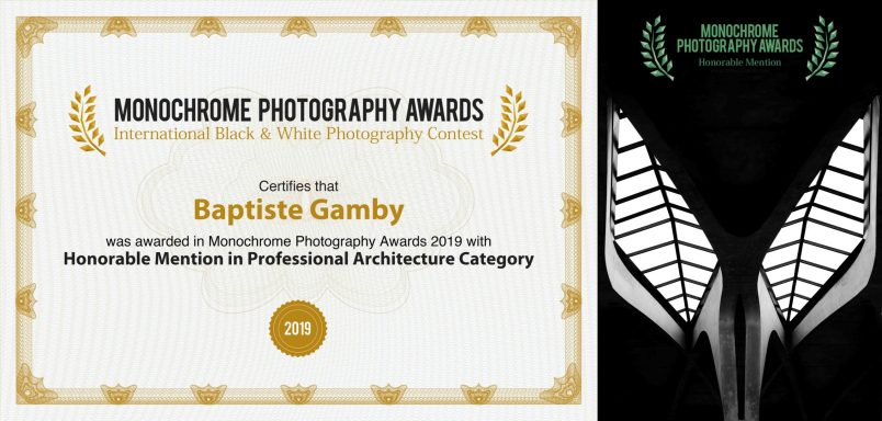 monoawards.com winners 2019 professional architecture Baptiste Gamby Photographe Grenoble Architecture