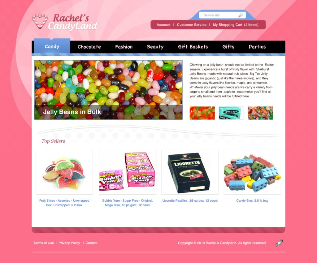 Learning E-Commerce Website