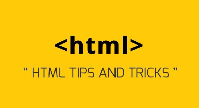 10 HTML Tips for Beginners