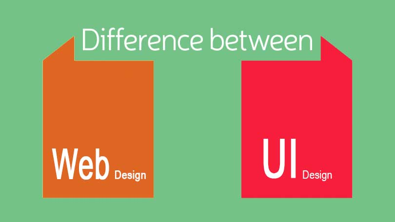 Difference between Web Designing vs UX and UI Designing