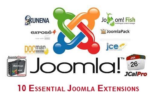 10 Essential Joomla Extensions