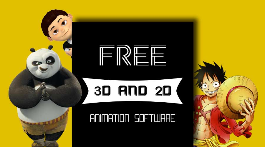 Best Free 3D and 2D Animation Software