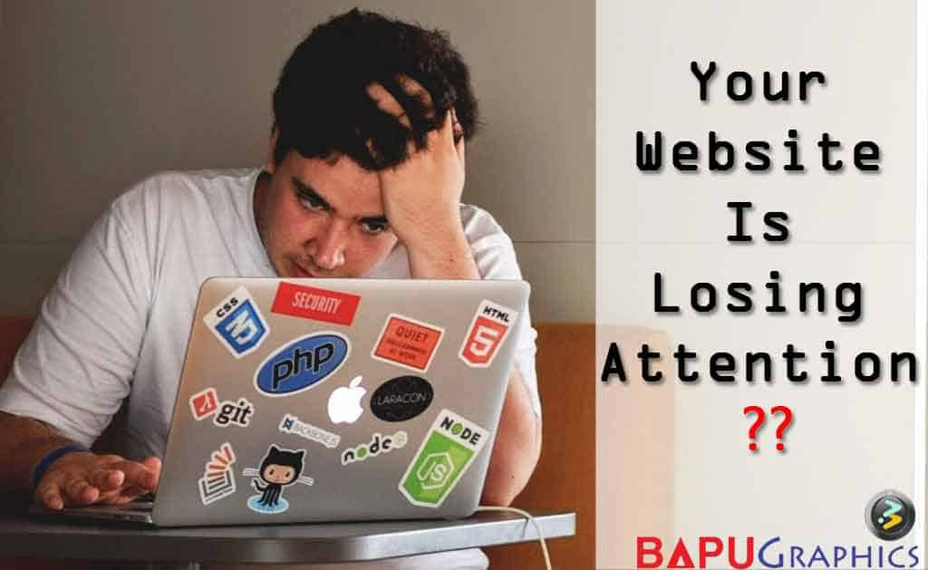 Website Losing Attention