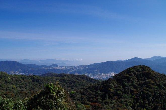 Mont Brinchang pour dominer les plantations de thé