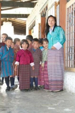 Ecole Bhoutan - blog Bar à Voyages