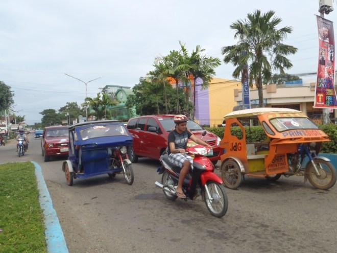 Rue de Puerto Princesa à Palawan