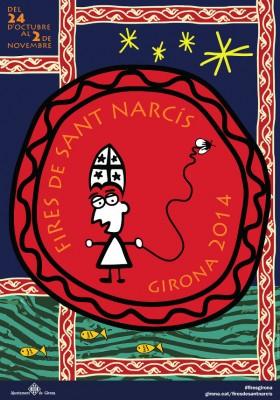 Affiche 2014 des Fêtes de la Saint Narcisse