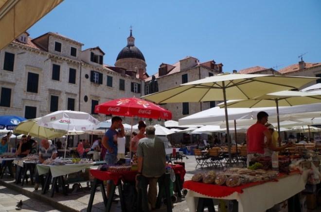 Le marché de Dubrovnik