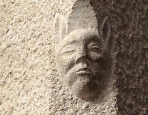 Sculpture de En banyeta à Gérone