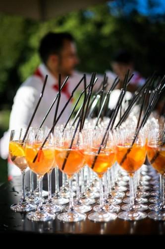 verres de cocktails servis au bar Le River102
