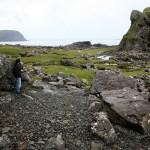 Côte rocailleuse au sud de l'ïle de Mull - Ecosse. - Blog Le Bar à Voyages