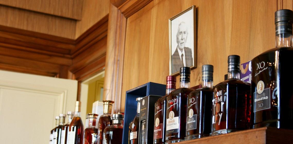 Les cognacs Braastad sous l'œil de l'aïeul