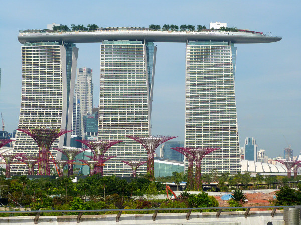 Marina Bay Sands Singapour - blog Bar a%CC%80 Voyages