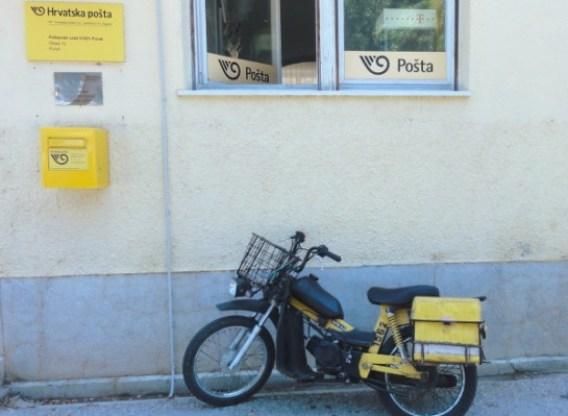 Krk Punat poste - blog Bar a? Voyages