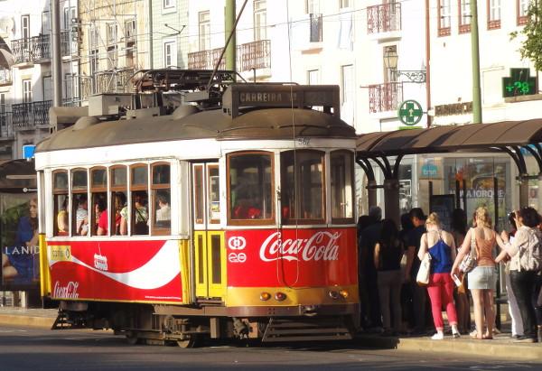 Tramway à Lisbonne - blog Bar a? Voyages