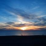 Coucher de soleil à Hossegor - blog voyages - Bar à Voyages