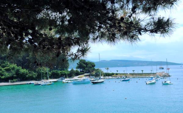 Marina du village de Krk en Croatie