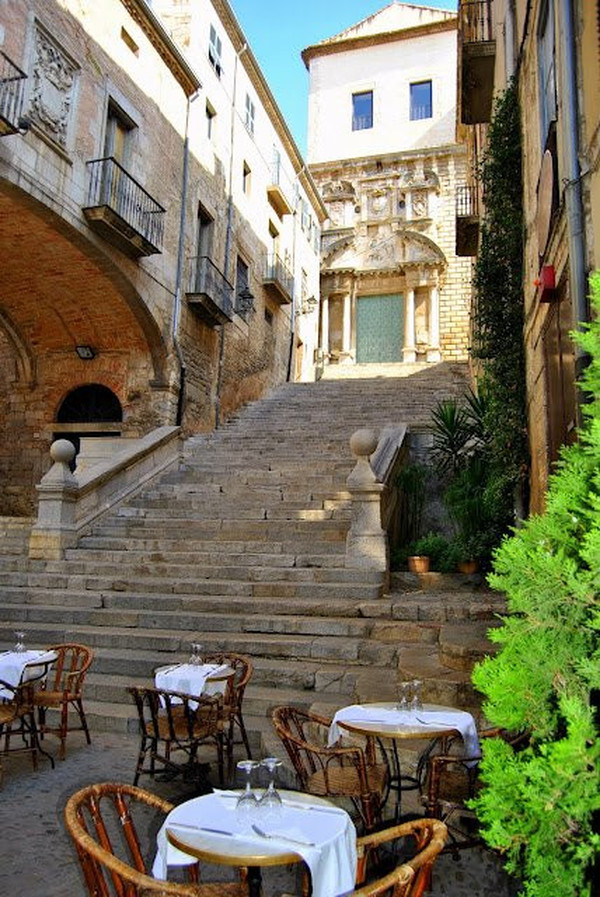 La terrasse du restaurant Le Bistrot