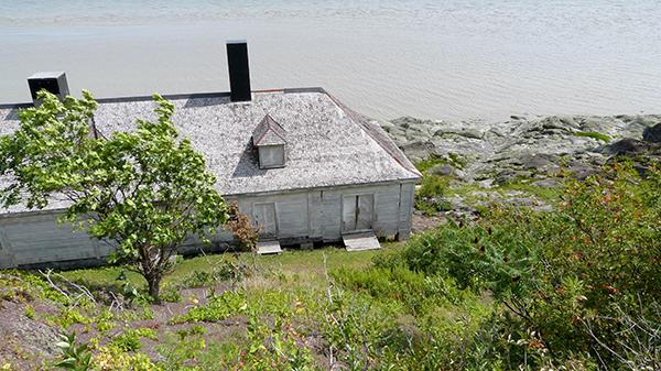 Baraque de quarantaine sur Grosse Île - Québec