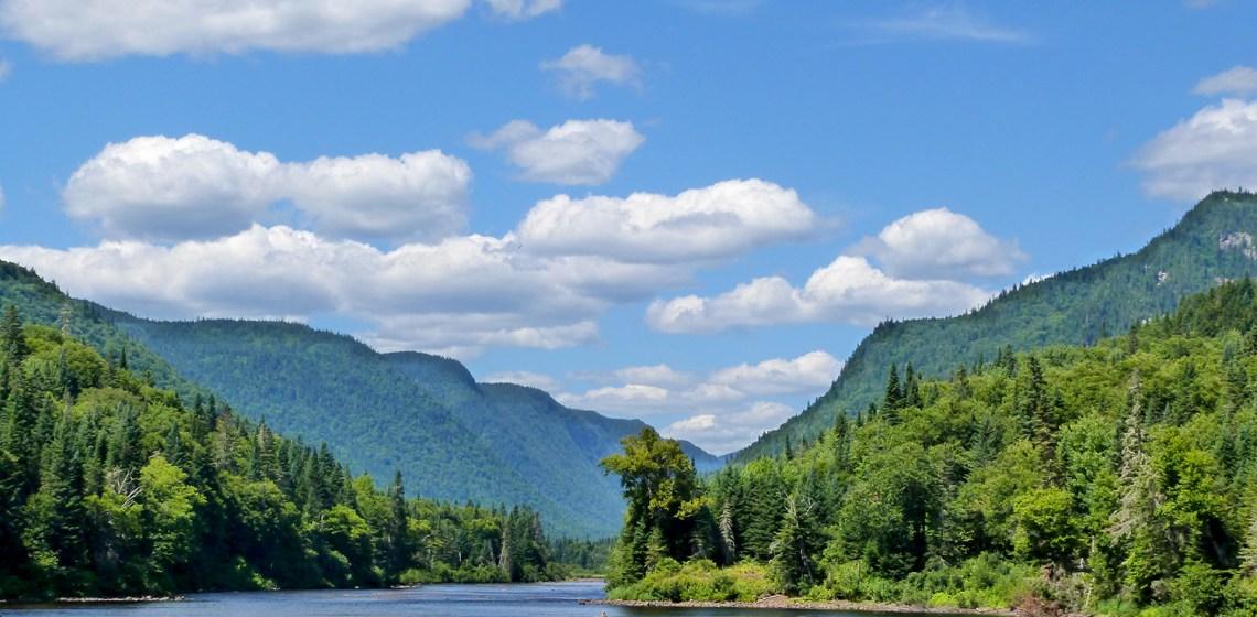 Parc naturel de la Jacques Cartier : carte postale du Québec !