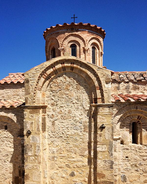 L'église byzantine d'Agios Dimitrios