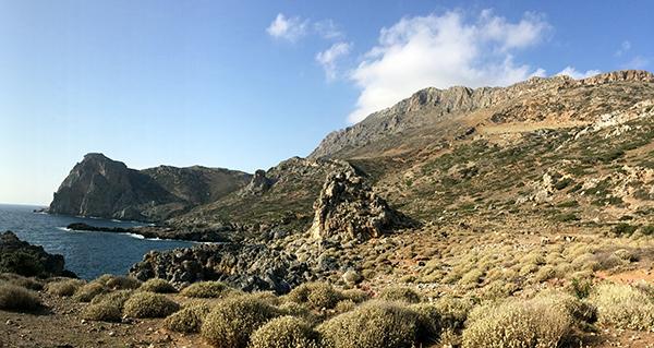 La Crète, accueillante, sans danger et encore très sauvage