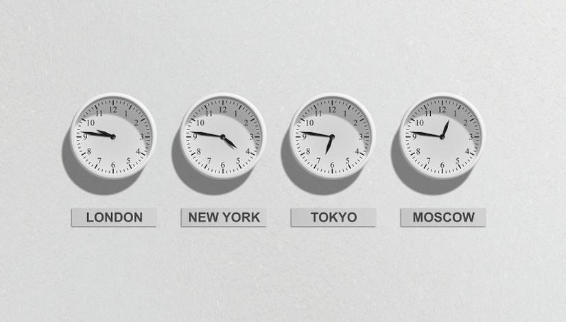 fuseaux horaires - blog Bar a Voyages