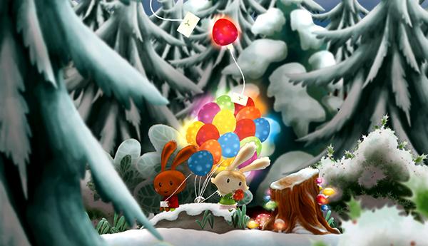 Lapins d'épices, petite série animée par ©Laure Fatus et Marc Domingo