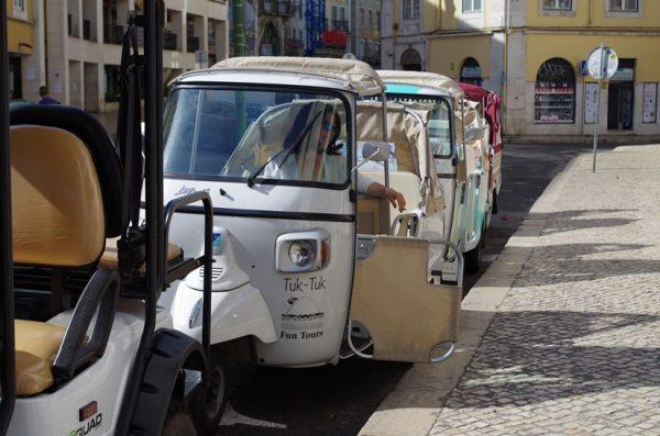 Tuk-Tuk Lisbonne