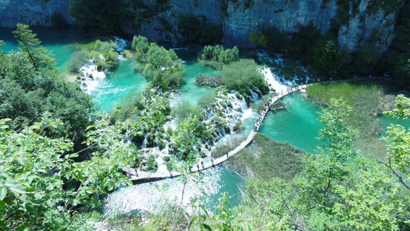 Lacs Plitvice en Croatie - blog Bar a Voyages