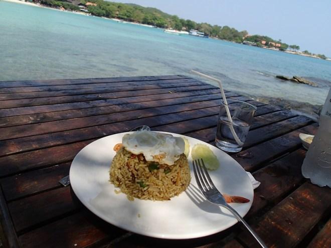Cuisine thaï à Koh Samet