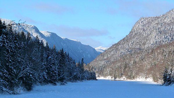 Le Parc Jacques Cartier dans ses habits d'hiver ©Franck/Le Bar à Voyages