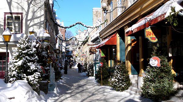 L'atmosphère chaleureuse de la période des fêtes à Québec ©Franck/Le Bar à Voyages