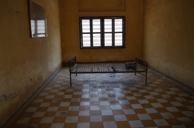 Salle de torture S21 Phnom Penh