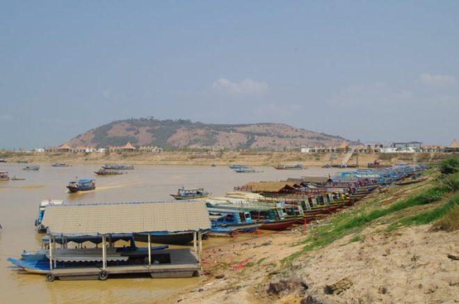 Embarcadère Lac Tonlé Sap Cambodge