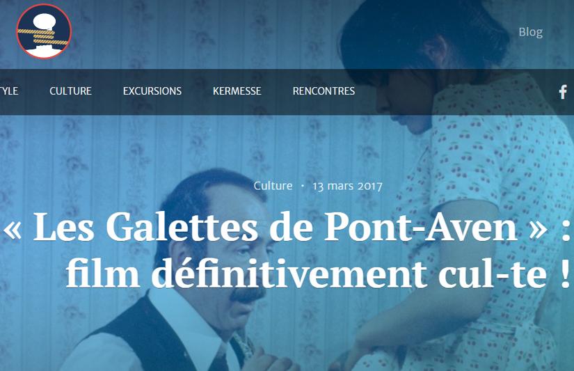 """Chronique de Magali sur le film culte """"Les Galettes de Pont-Aven"""" sur le site Port d'Attache"""