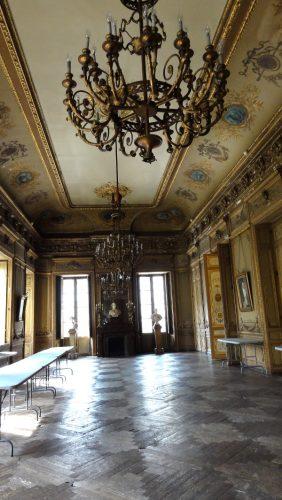 foyer d'hiver au Grand Théâtre de Bordeaux