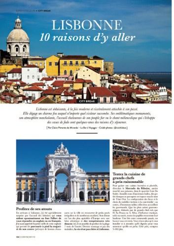 page 1 article Lisbonne magazine Esprit Berry 1