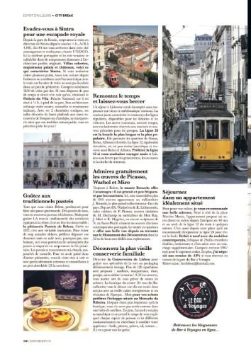 page 3 article Lisbonne magazine Esprit Berry 1